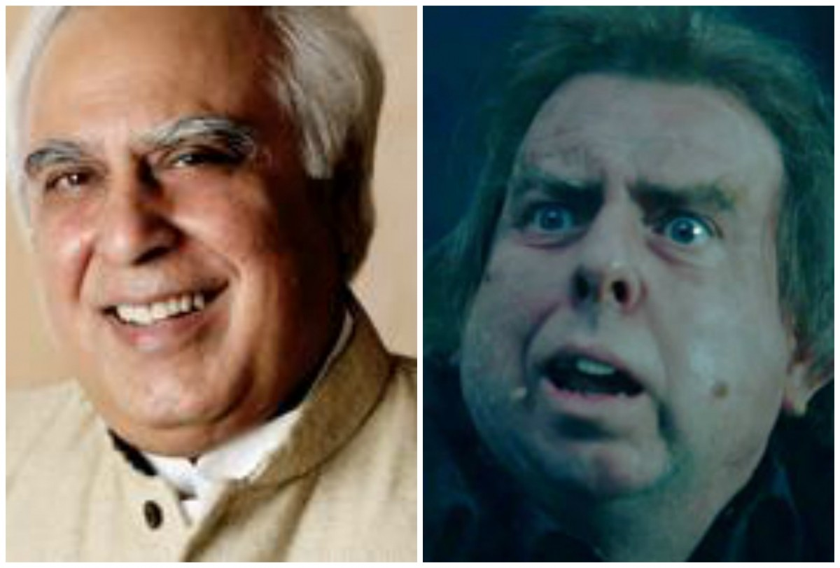 Kapil Sibal and Peter Pettigrew