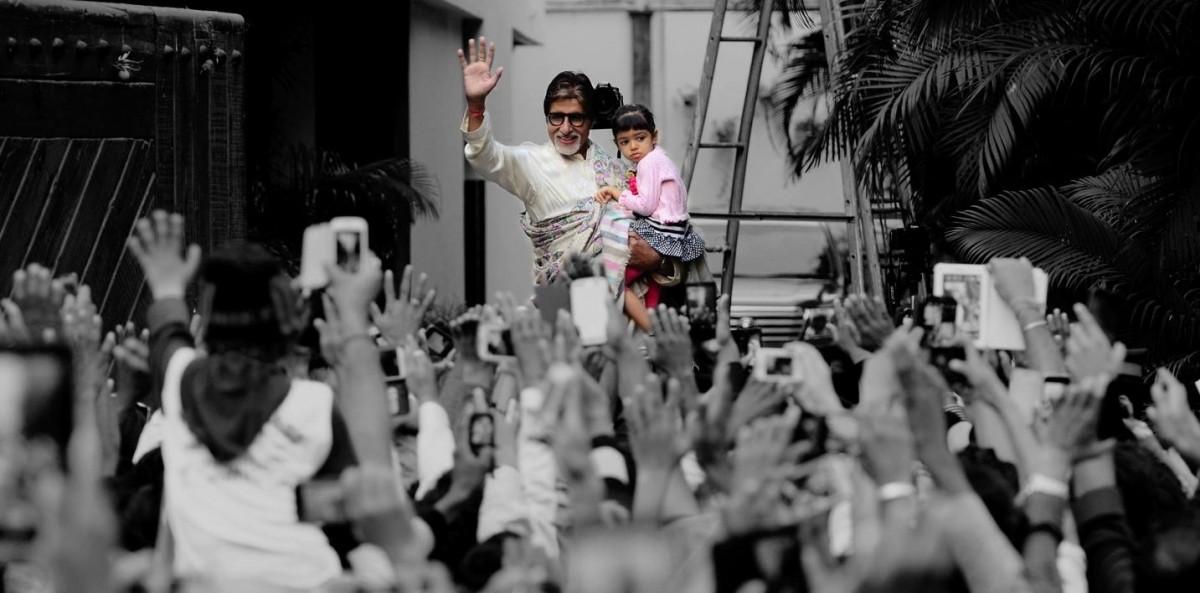 Amitabh Bachchan and Aaradhya Bachchan