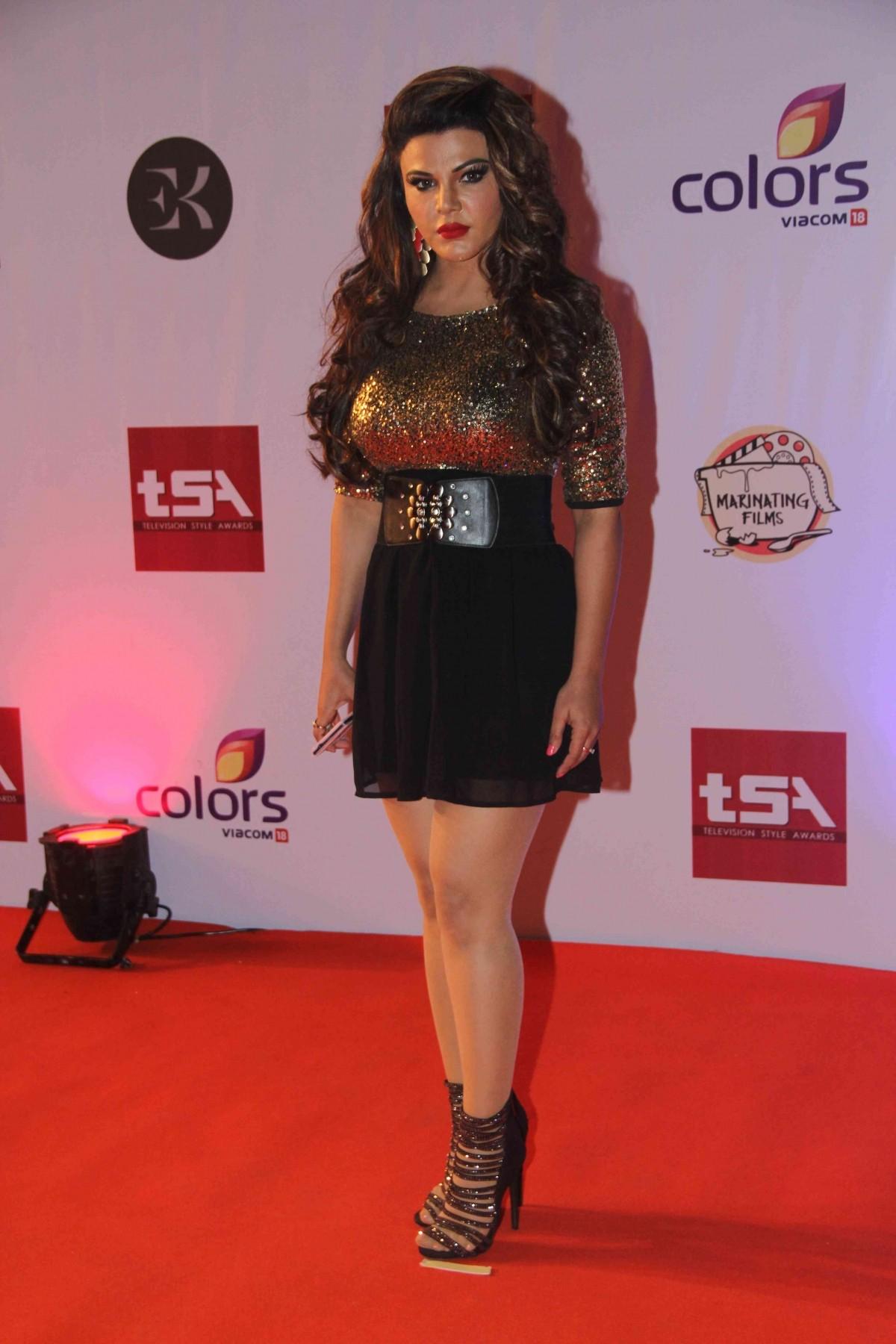 Rakhi Sawant at Television Style Awards