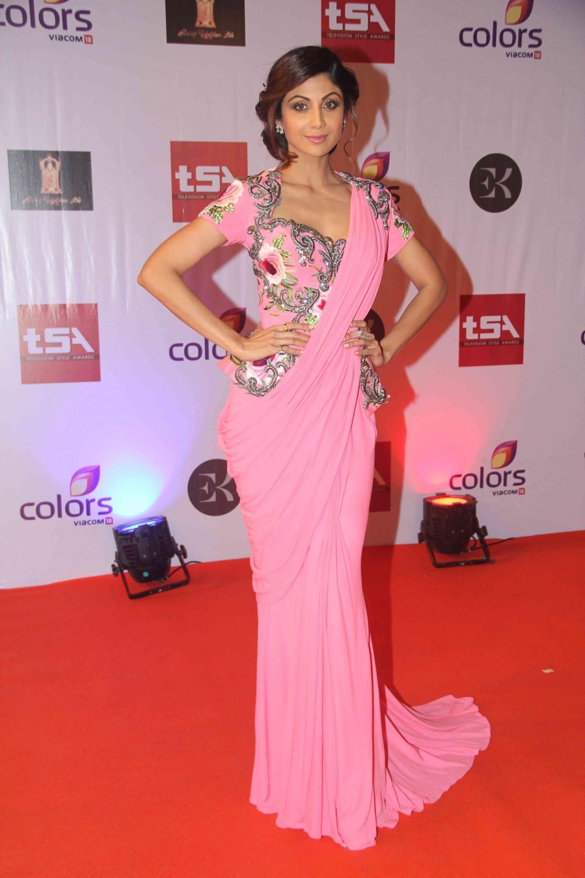 Shilpa Shetty at Television Style Awards