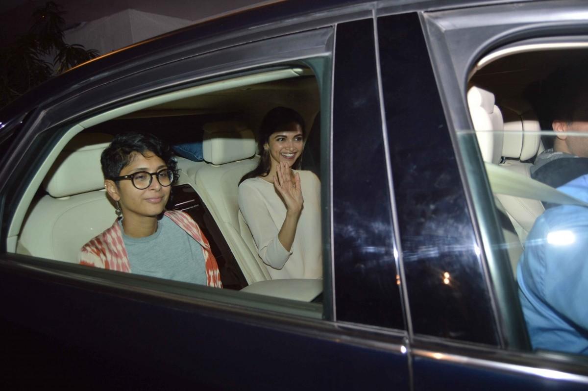 Aamir, Deepika, Anushka, Karan Attend a Meeting Regarding Censor Board Issues