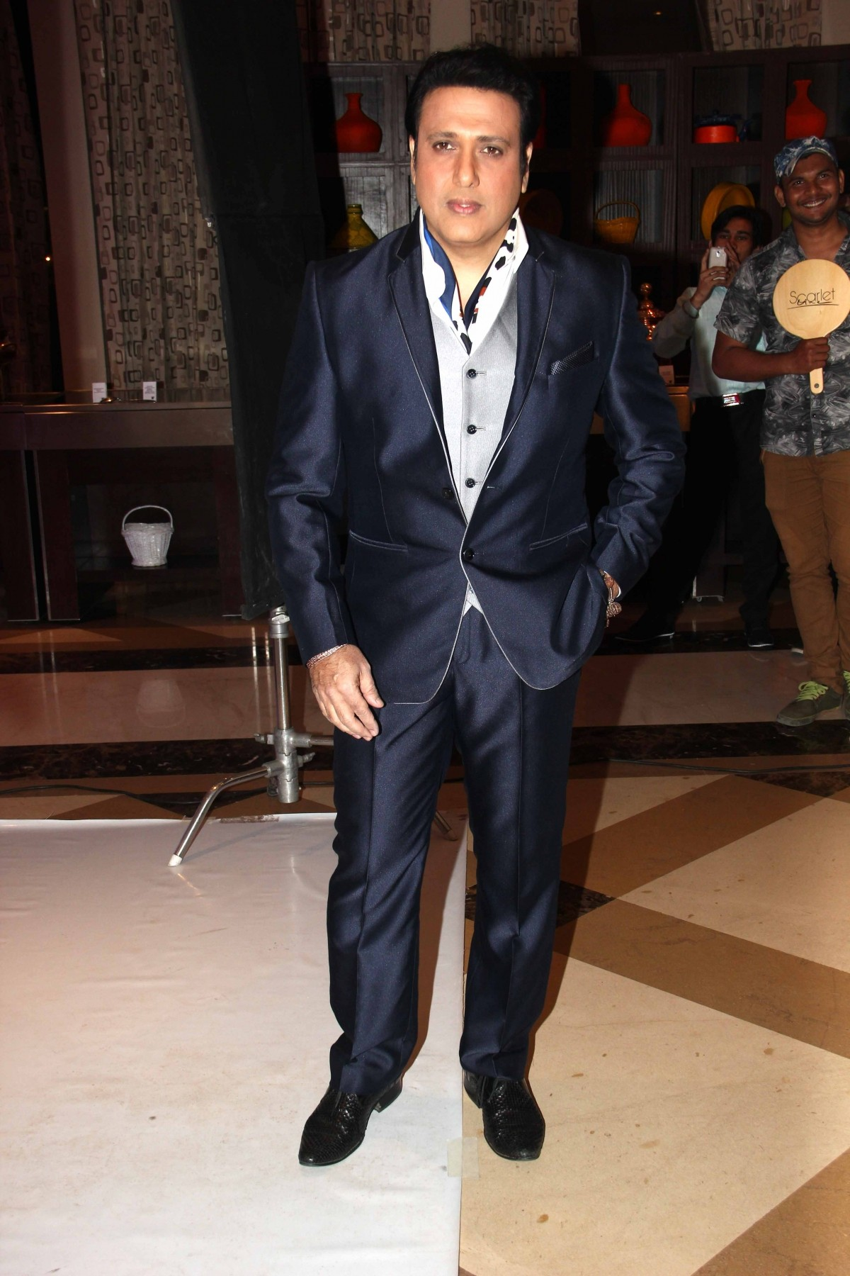 Govinda during the launch of Zee TV new reality show 'Dance India Dance Super Mom'