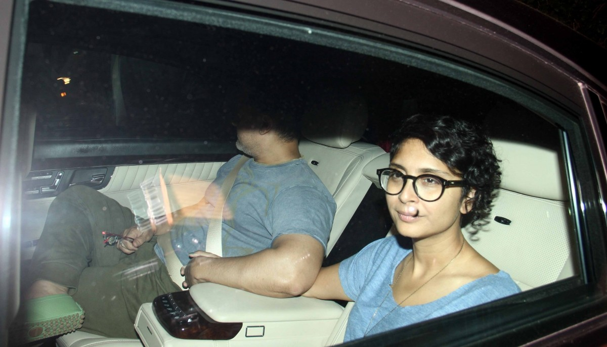 Kiran Rao attends 'Bombay Velvet' trailer launch success party
