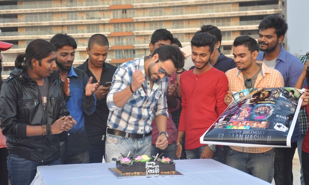 Emraan Hashmi Celebrates his 36th Birthday with Fans