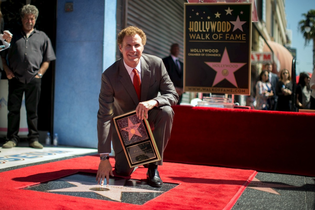 Will Ferrell Hollywood Walk of Fame