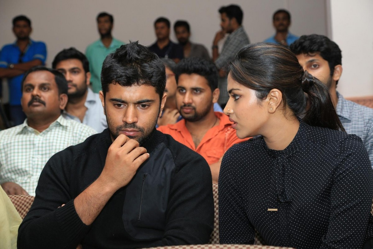 Nivin Paul and Amala Paul attend the 60th day success meet of 'Mili'