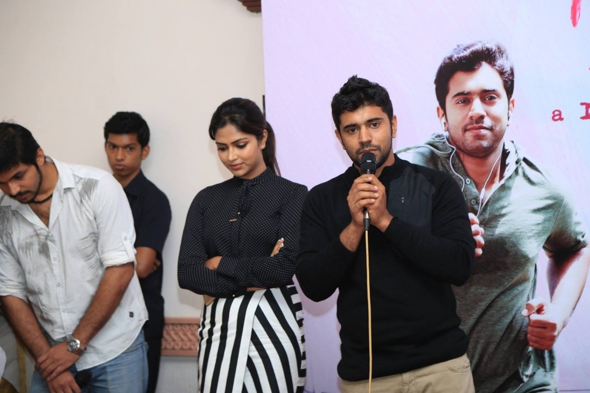 Nivin Pauly and Amala Paul attend the 60th day success meet of 'Mili'