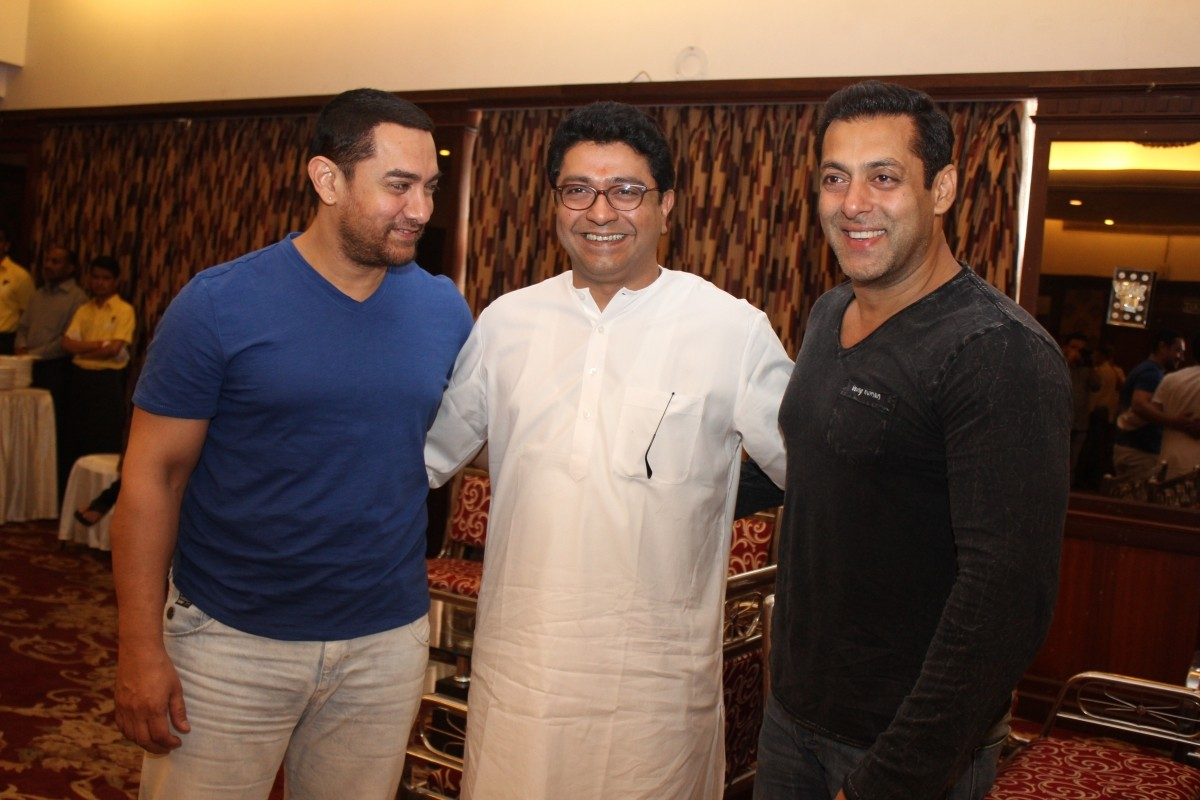 Salman Khan, Farhan Akhtar, Aamir Khan Meet Raj Thackeray To Discuss Development Plans for Mumbai