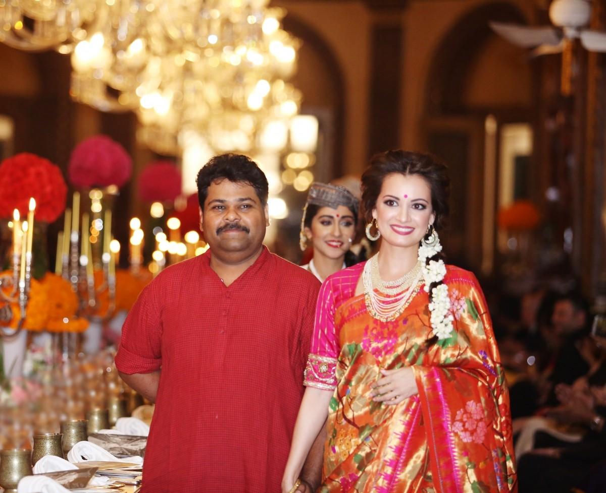 Dia Mirza walks Gaurang Shah's Fashion Show 'Noor'