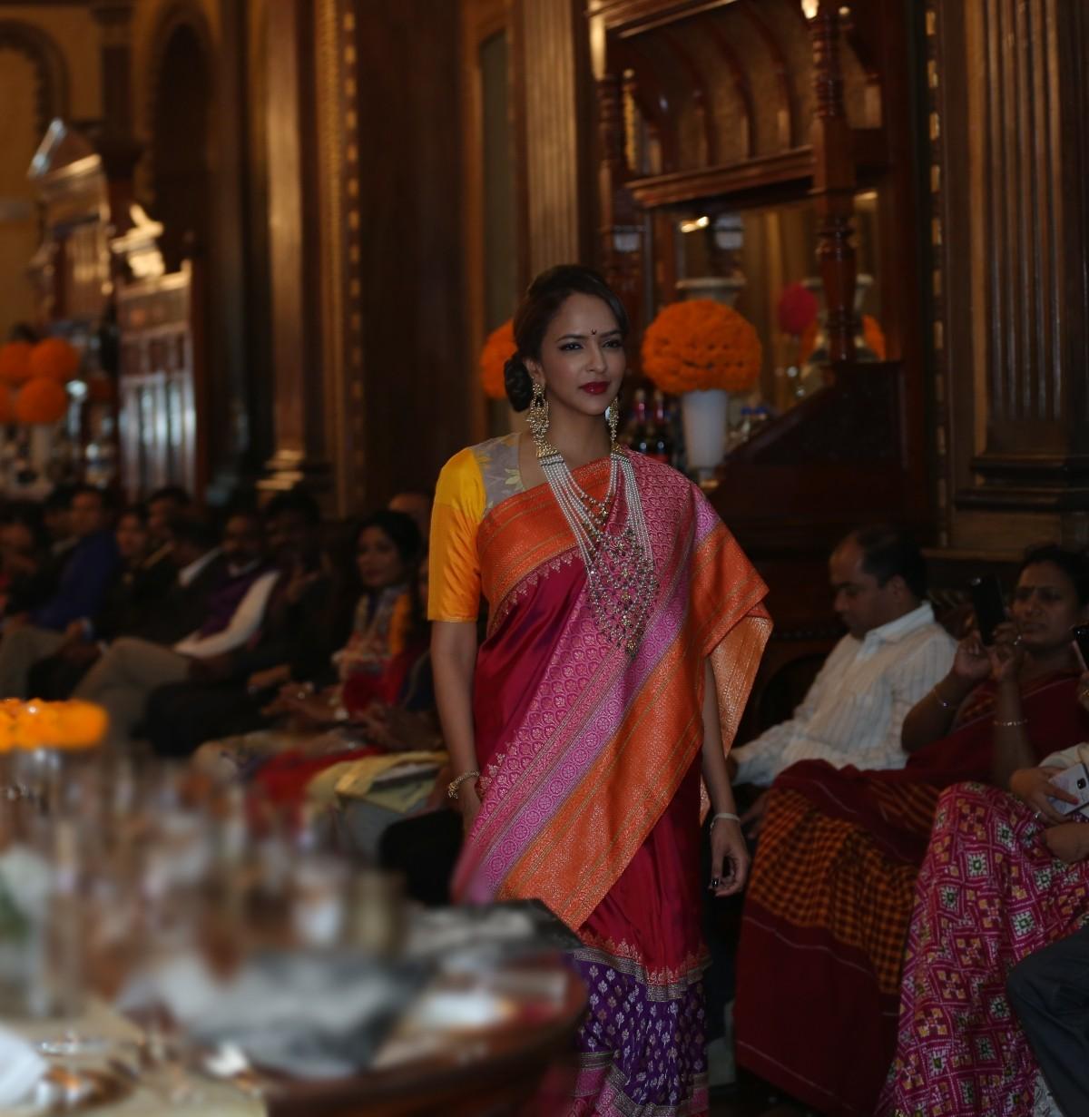 Lakshmi Manchu walks ramp at Gaurang Shah's Fashion Show 'Noor'