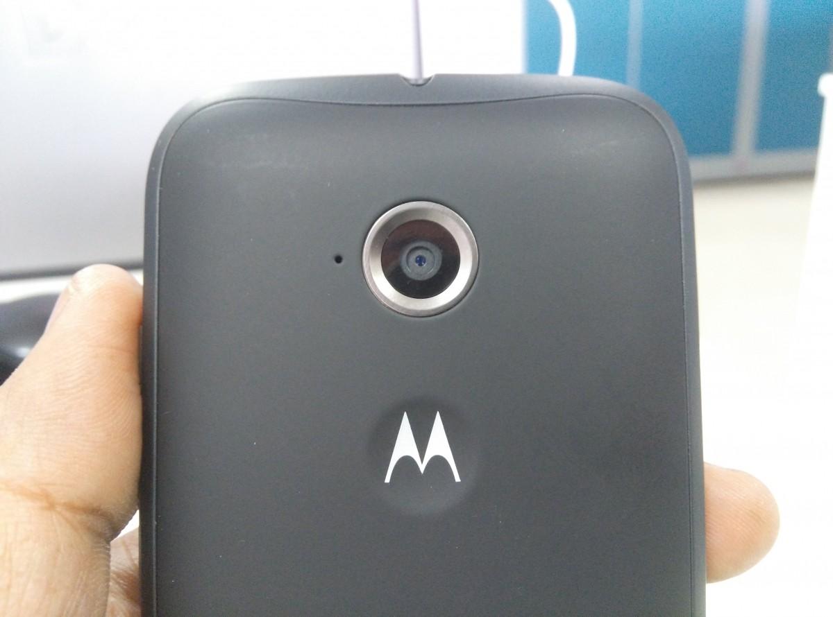 Moto E2 Camera