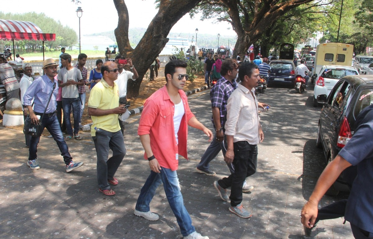 Dilwale Shoot