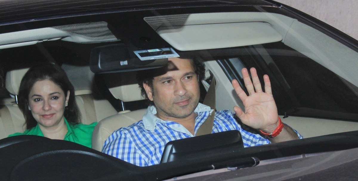 Sachin Tendulkar, Aamir Khan Arrive At Special Screening of 'Fast and Furious 7'