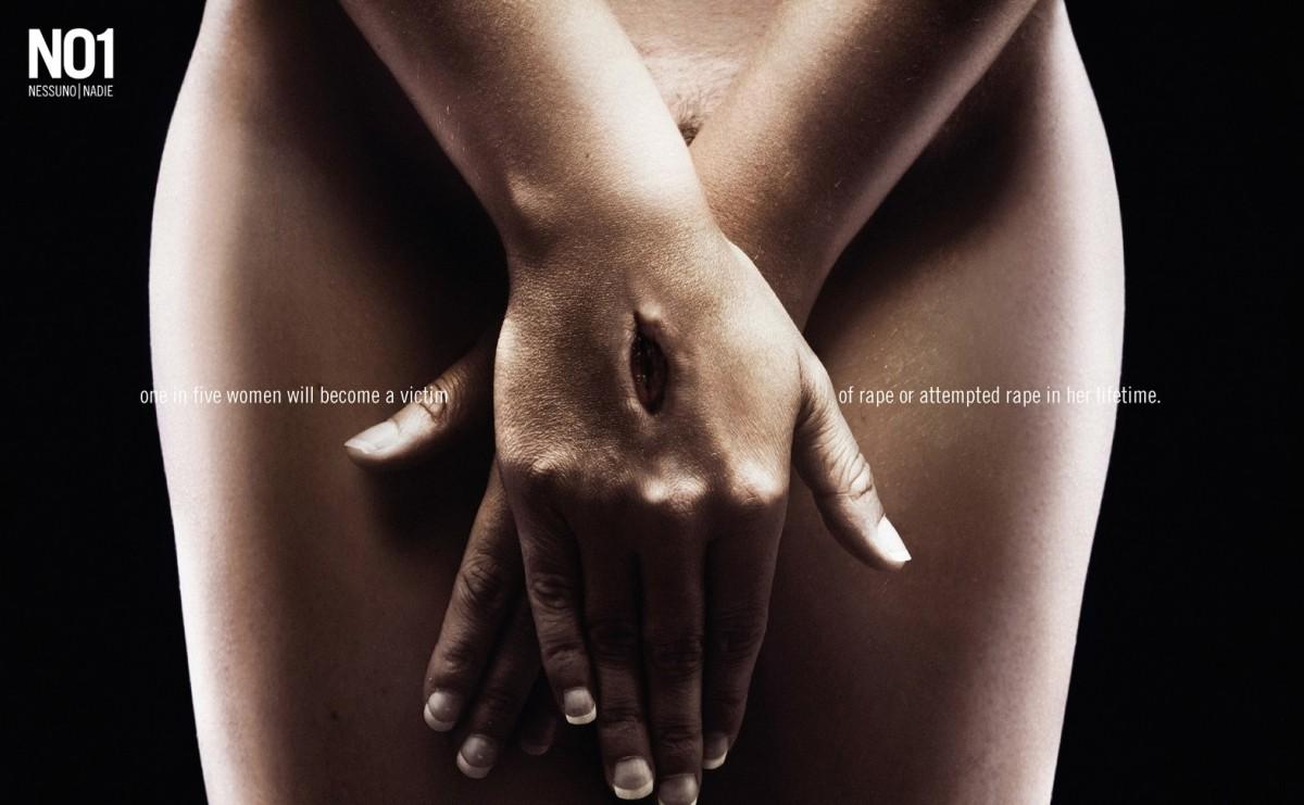 No Rape Campaign by Erik Ravelo