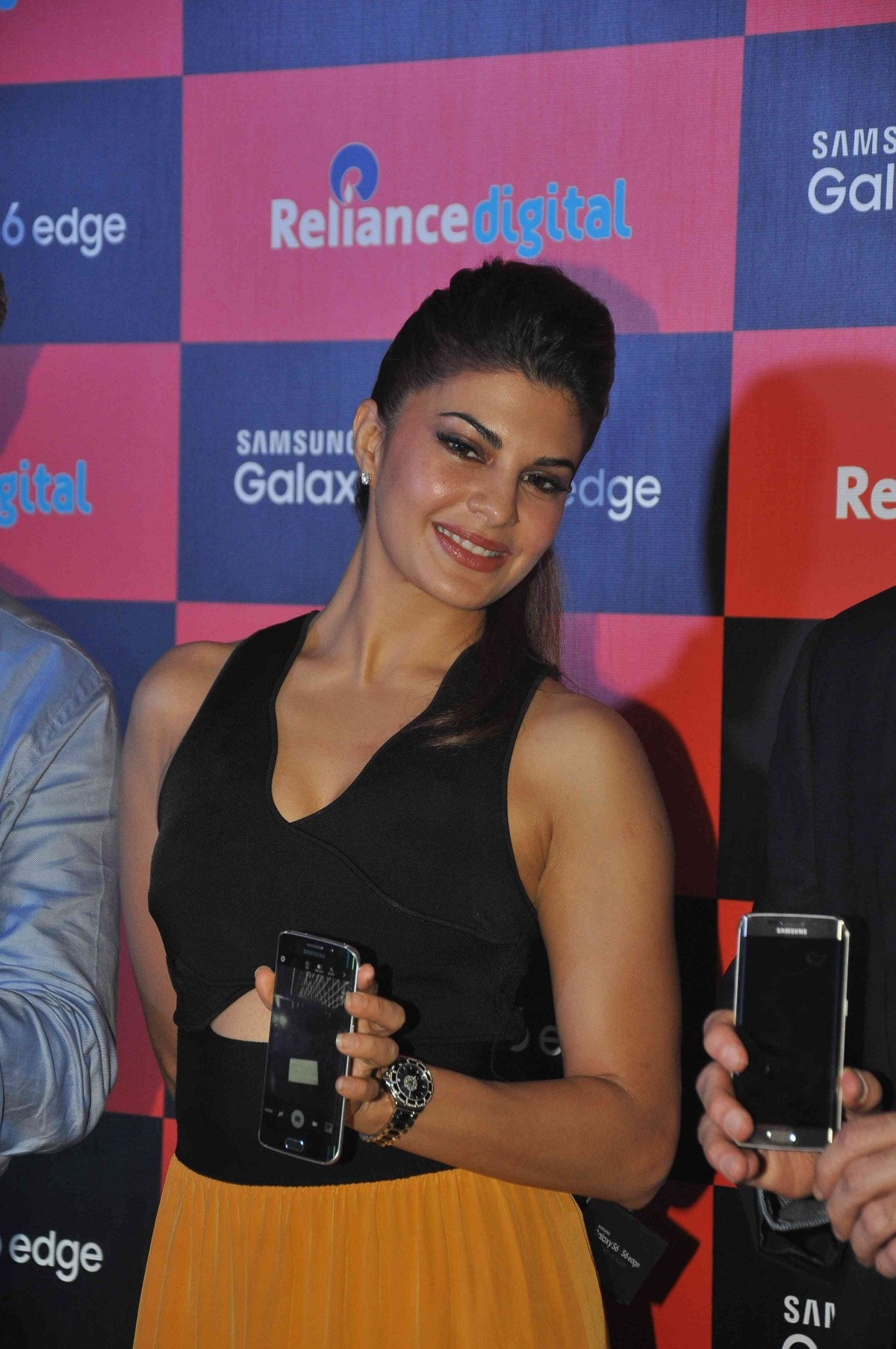 Jacqueline Fernandez at the launch of Samsung Galaxy S6 and S6 Edge