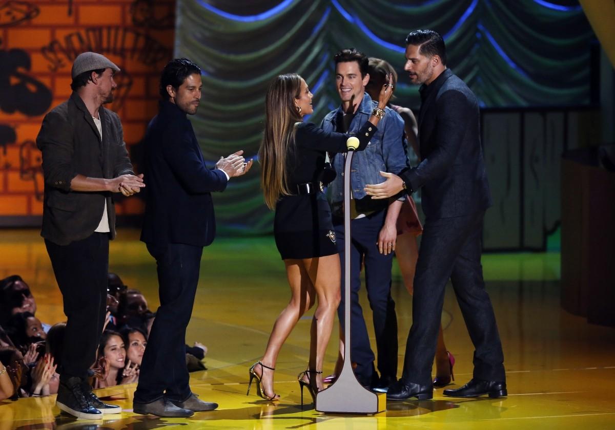 Jennifer Lopez accepts Best Scared-As-S**t Performance Award