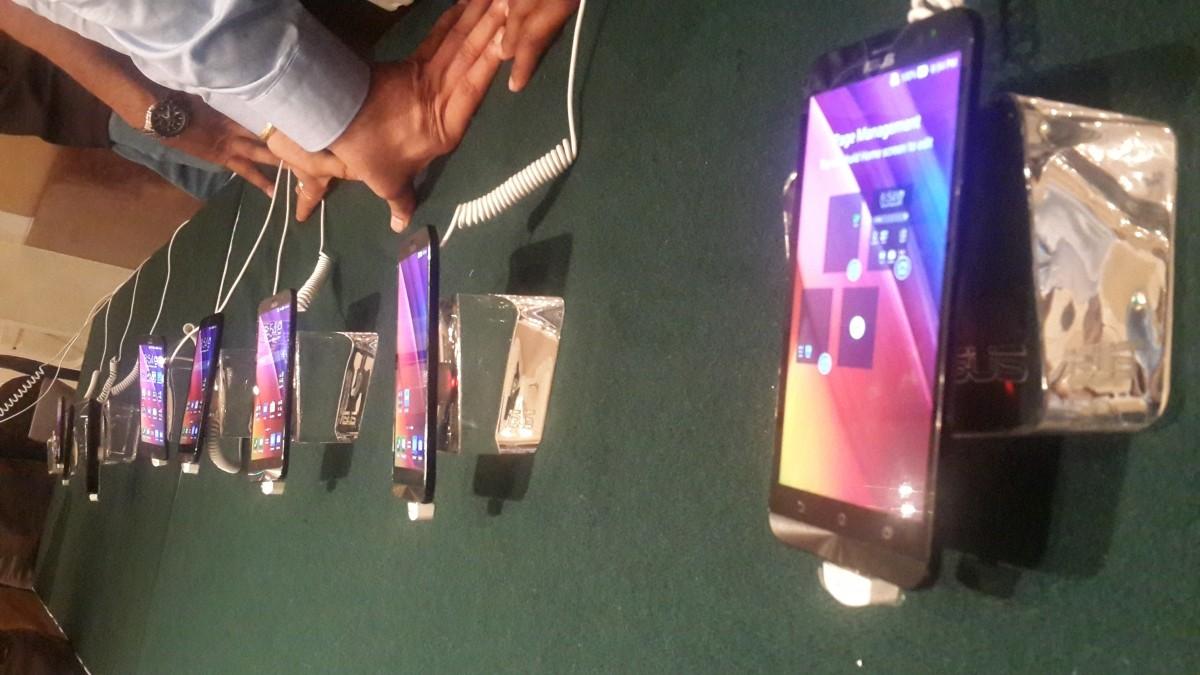 Asus Zenfone 2 On Display