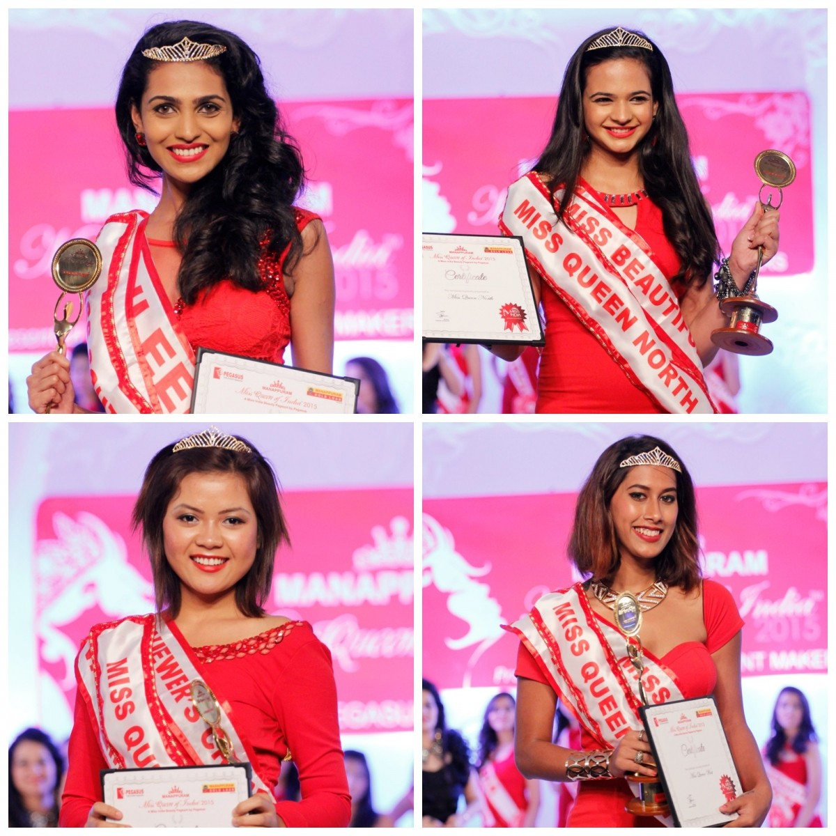 Miss Queen of India participants who won regional titles
