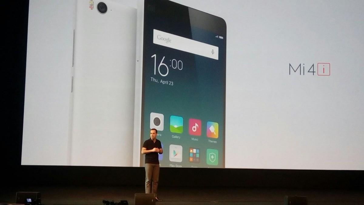 Xiaomi Mi 4i first look