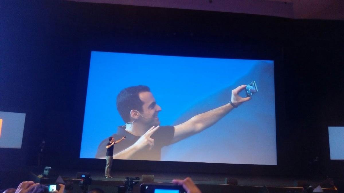 Xiaomi Mi 4I camera front
