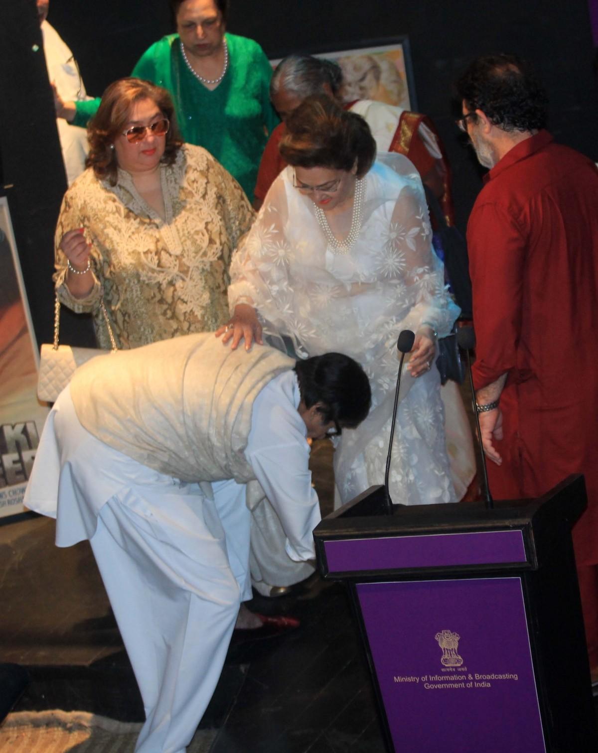 Shashi Kapoor Receives Dadasaheb Phalke Award