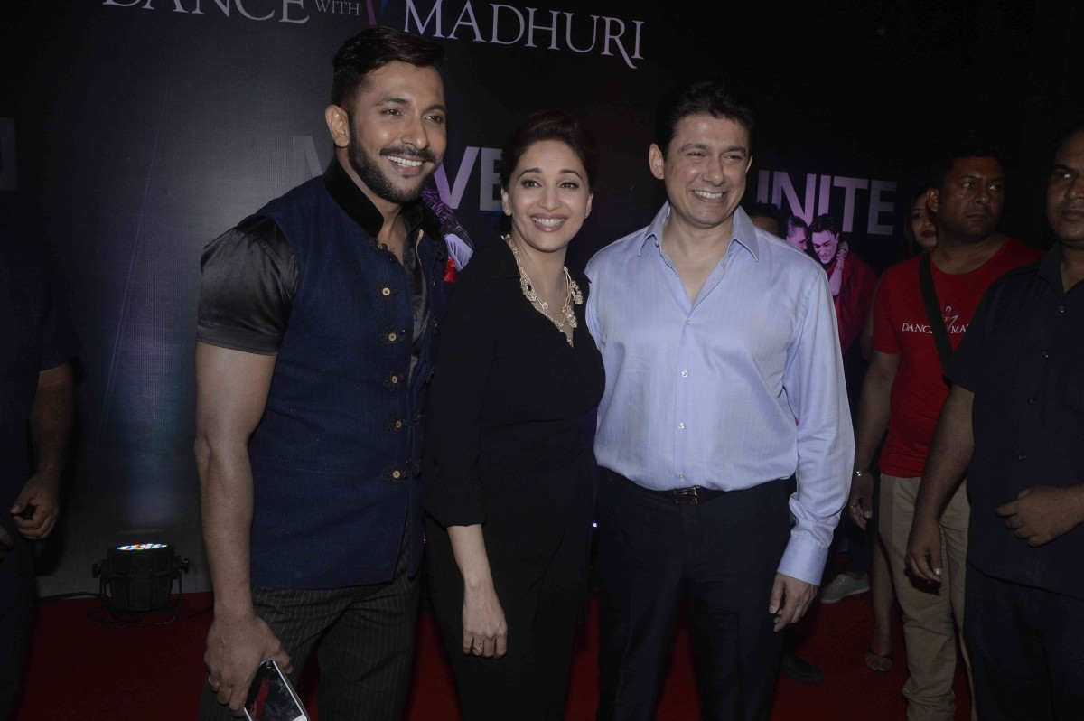 'Dance with Madhuri' Launch