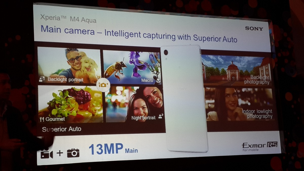 Sony Xperia M4 Aqua Launch Live From New Delhi