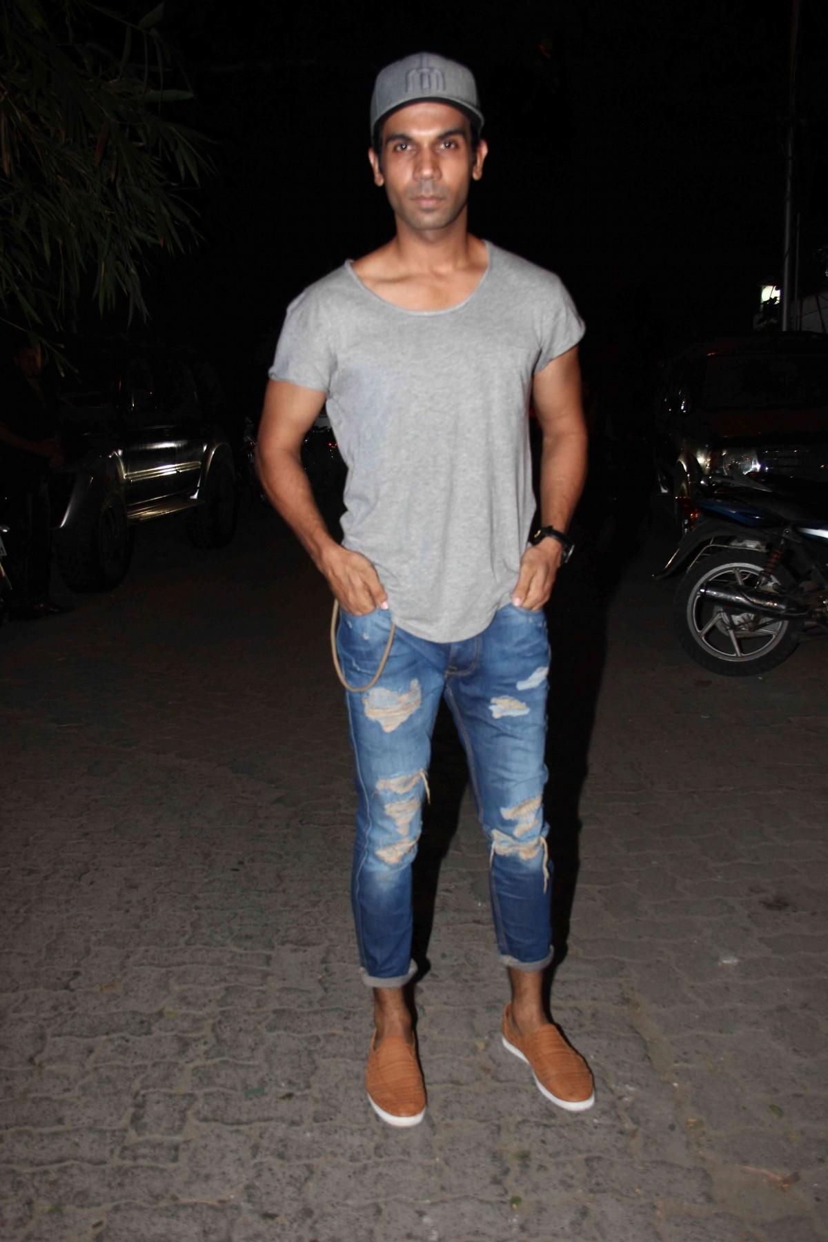 Raj Kumar Yadav attends 'Tanu Weds Manu Returns' Success Bash