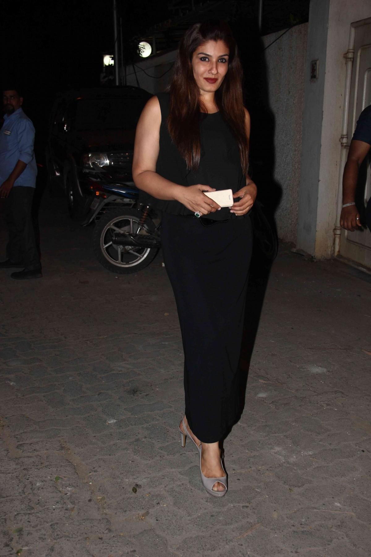 attends 'Tanu Weds Manu Returns' Success Bash