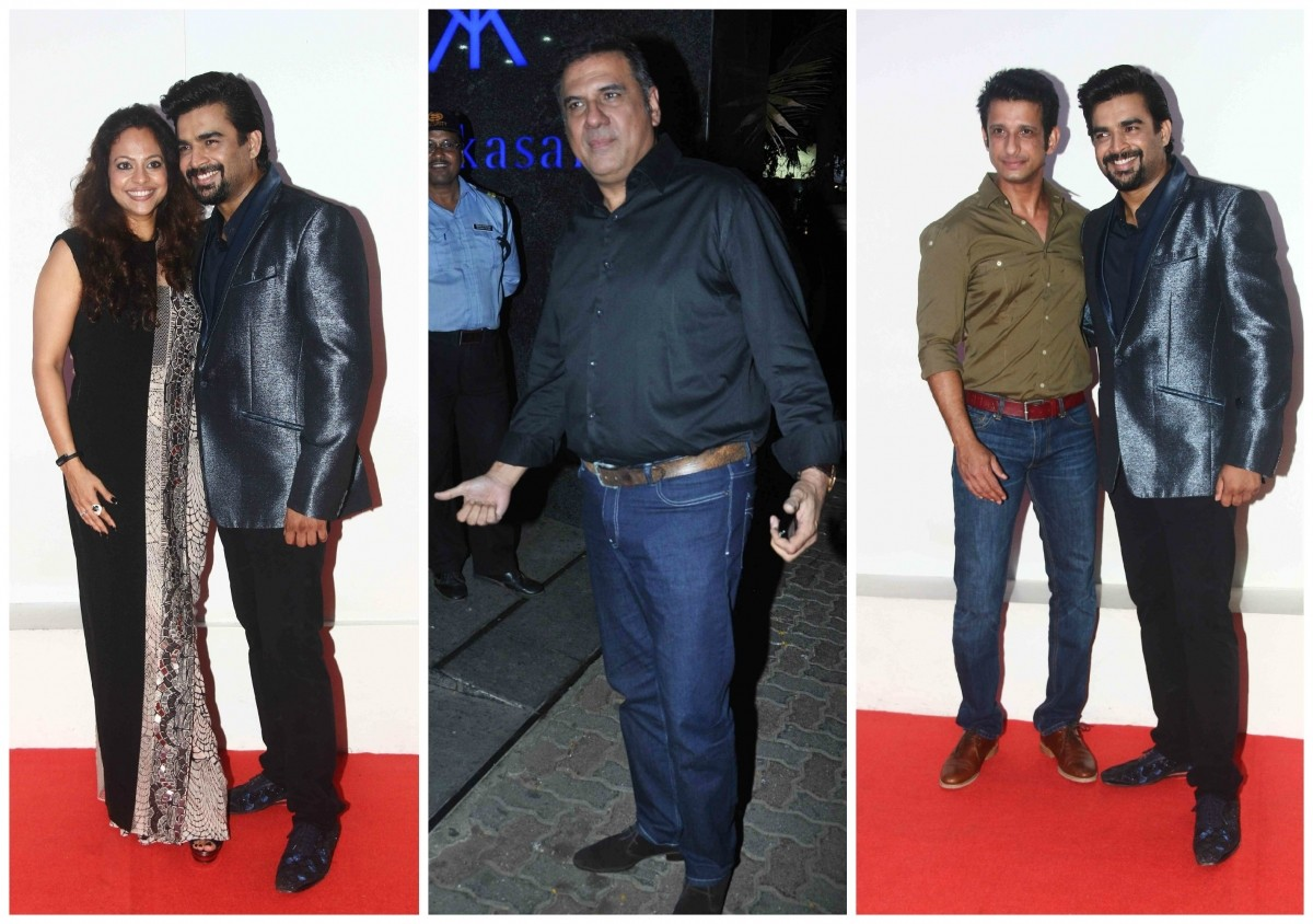 Celebs Attend Madhavan's Birthday Bash