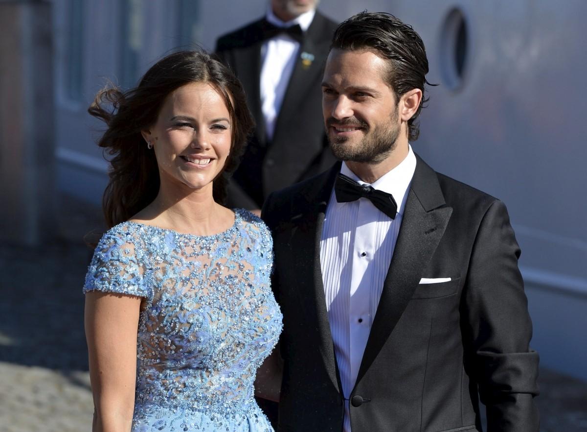 Prince Carl Philip and Sofia Hellqvist