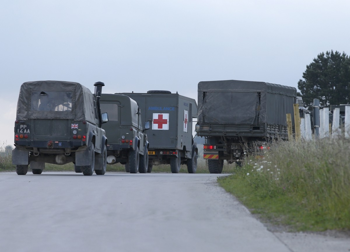 Indian Army UK Accident