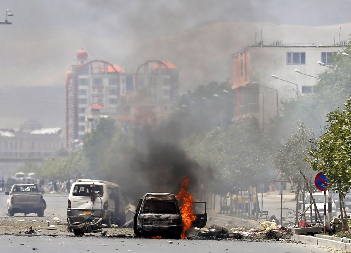 Afghanistan Parliament attack