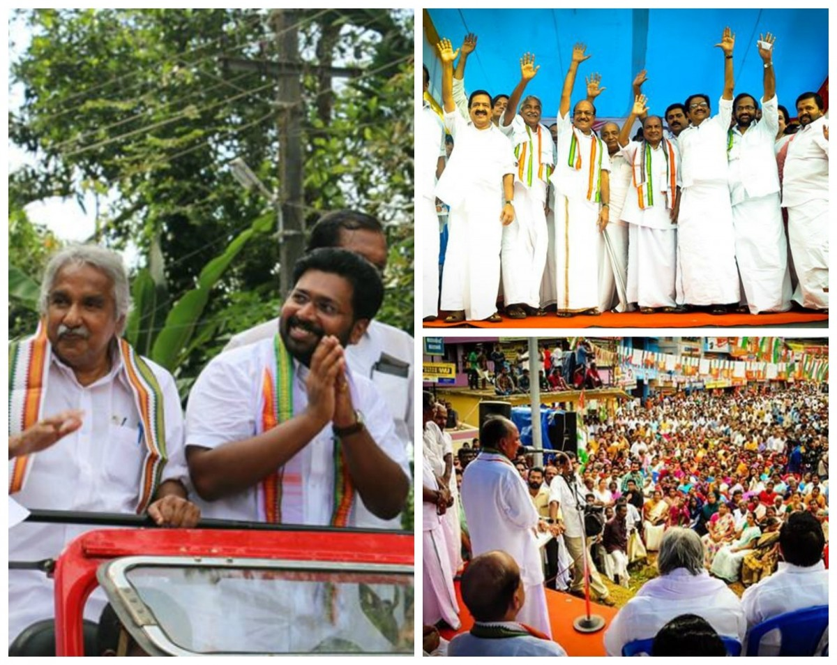 Election campaign by UDF party in Aruvikkara