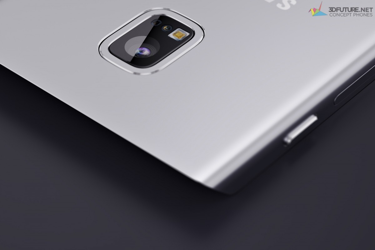 Samsung Galaxy S7 Edge concept images reveal futuristic design strategy: 3D Touch, full metal and more [PHOTOS]