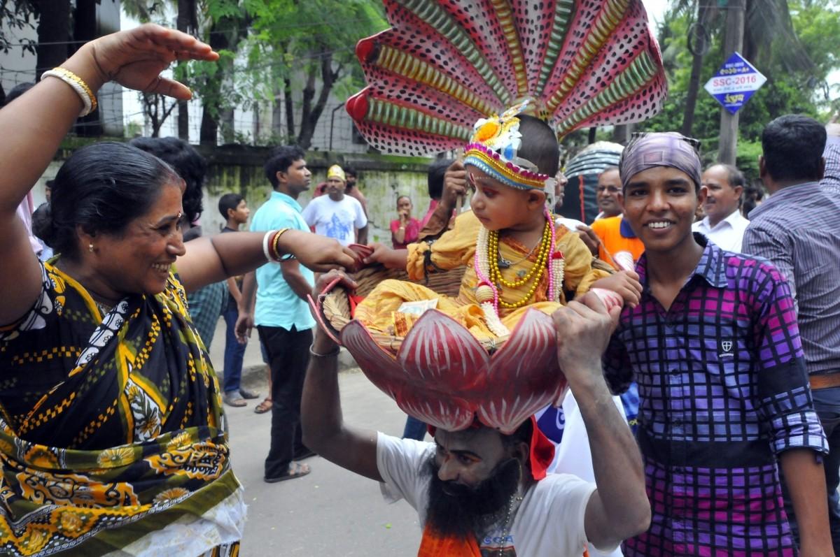 The festival is also known as Krishnashtami, Saatam Aatham, Gokulashtami, Ashtami Rohini, Srikrishna Jayanti or Sree Jayanti.