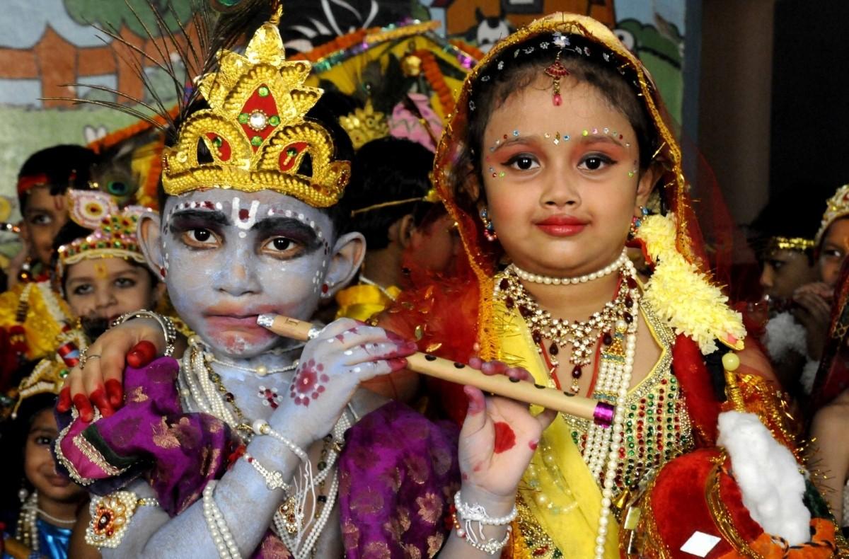 Janmashtami is celebrated every year on the eighth day (Ashtami) of the Krishna Paksha (dark fortnight) in the Shravana (August–September) month, according to the Hindu calendar.