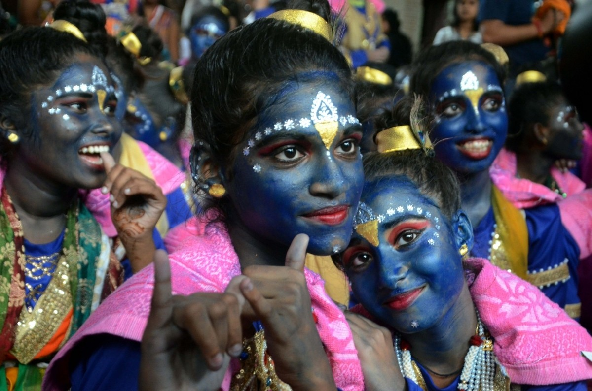 Rasa Lila is the dramatic enactment of Krishna's life. Every year, performances re-create the flirtatious side of Krishna in his youth.