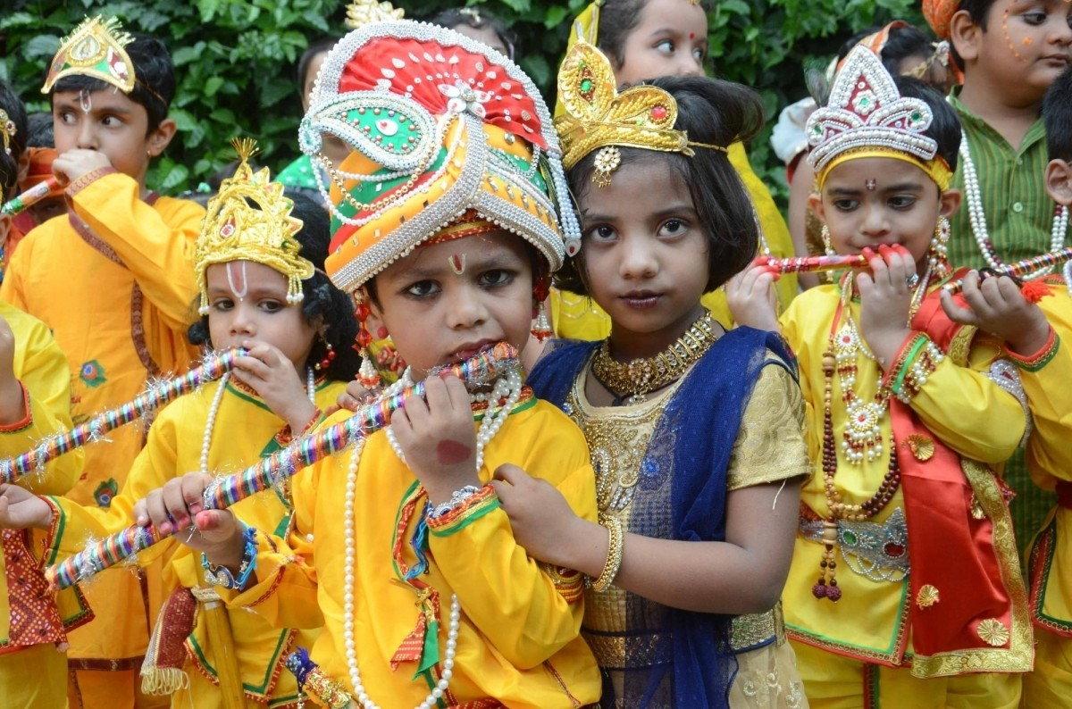 Janmashtami is followed by Nandotsav, a festival that celebrates the occasion when Nanda Baba distributed gifts to the community in honour of Krishna's birth.