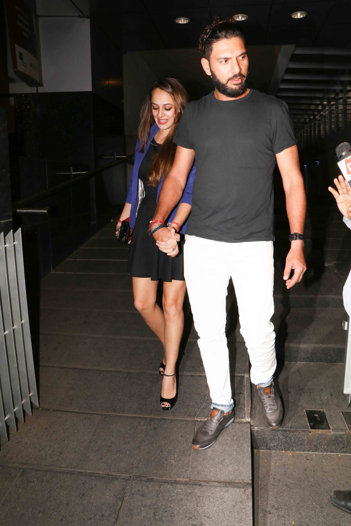 Yuvraj Singh and Hazel Keech's pre-wedding bash