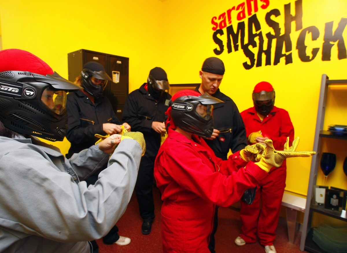 Smash Shack offers a different form of therapy