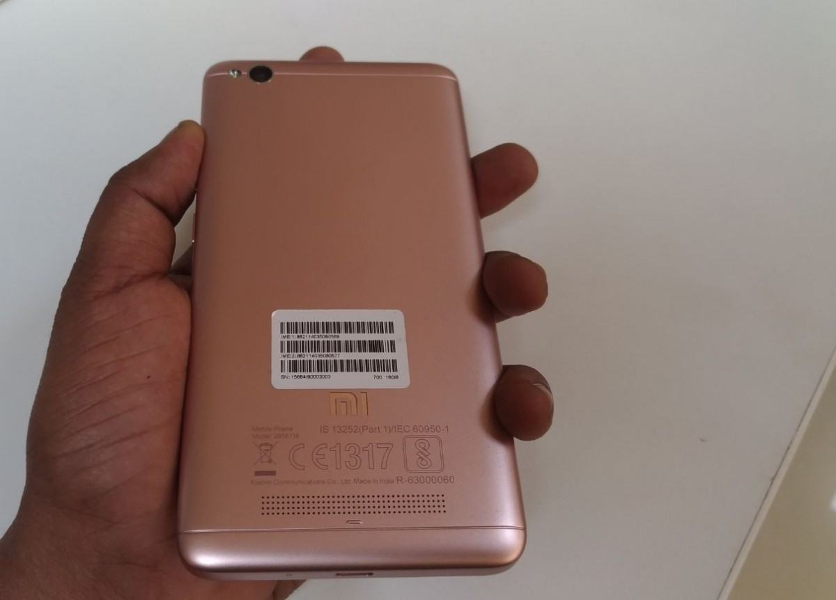 Xiaomi Redmi 4a Hands On Full Review Of Design Build