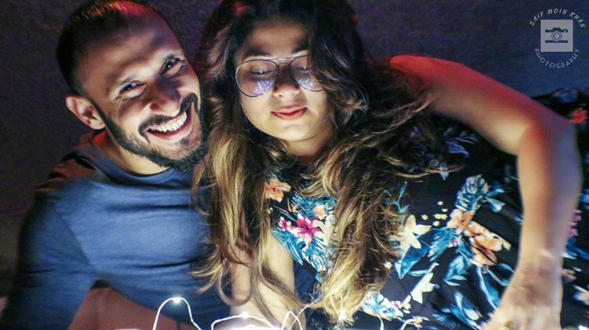 Malini Kapoor and husband Ajay Sharma