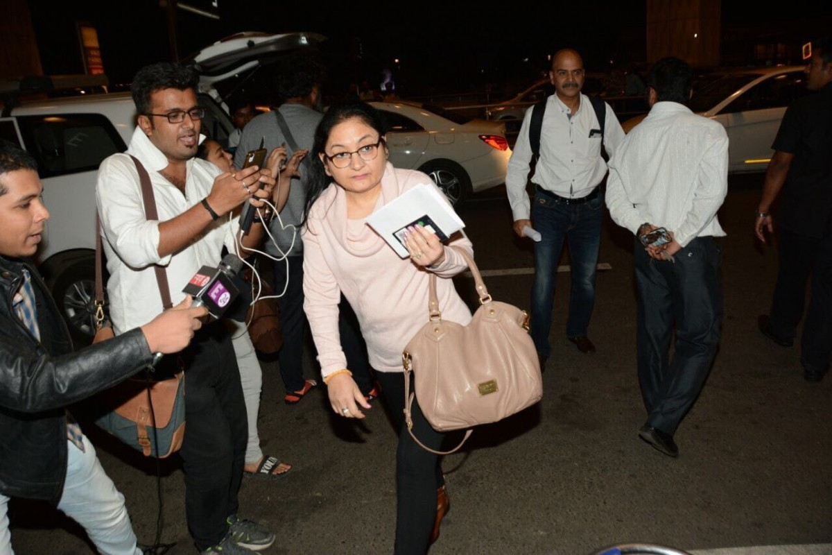 Anushka Sharma and family at the airport