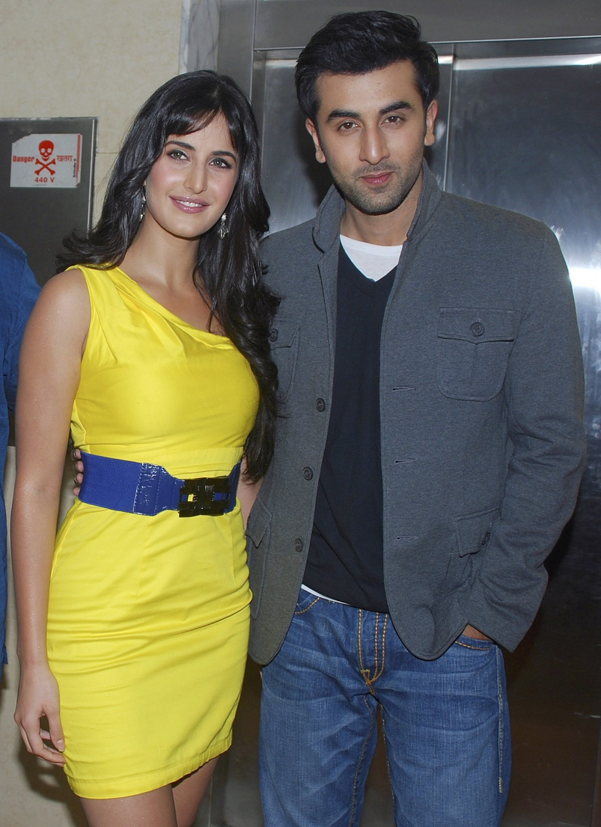 Ranbir, Katrina at a promotional event for