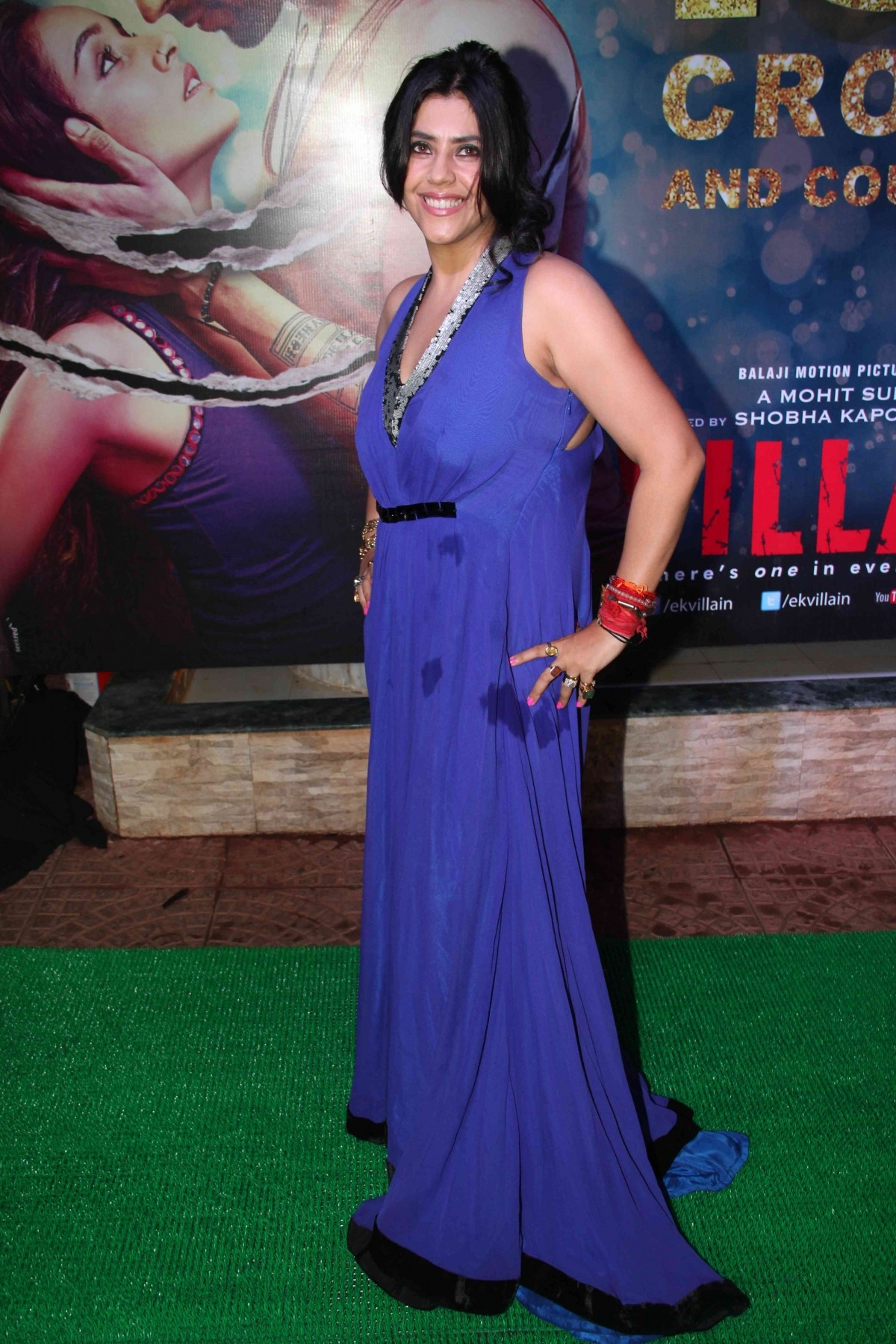 Ekta Kapoor at the success bash of