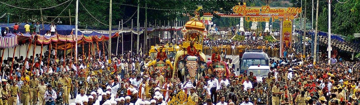 Mysore Dasara 2016: Where to watch Jamboo Savari procession and Torchlight Parade online on October 11