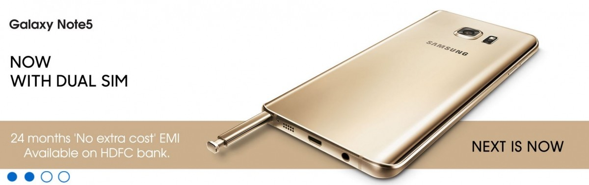 Samsung Galaxy Note 5 Dual launched in India; price, specifications