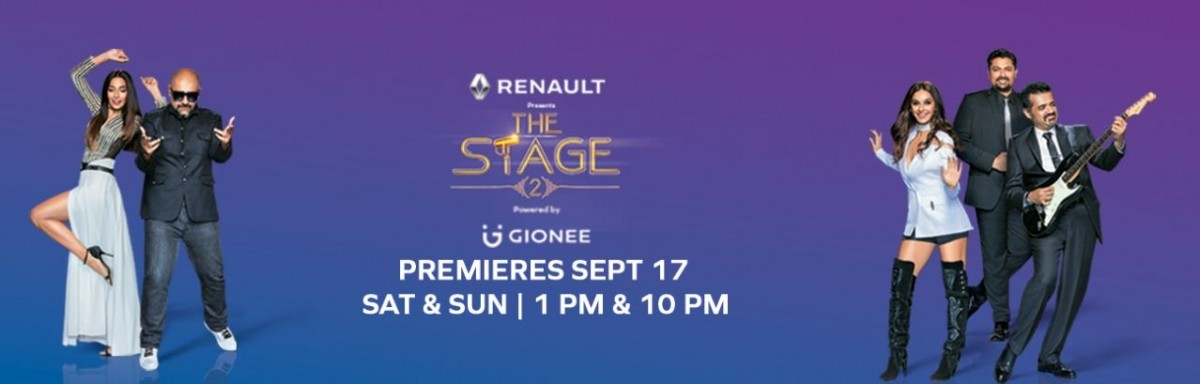 The Stage starts airing Season 2 on Saturday 17 September