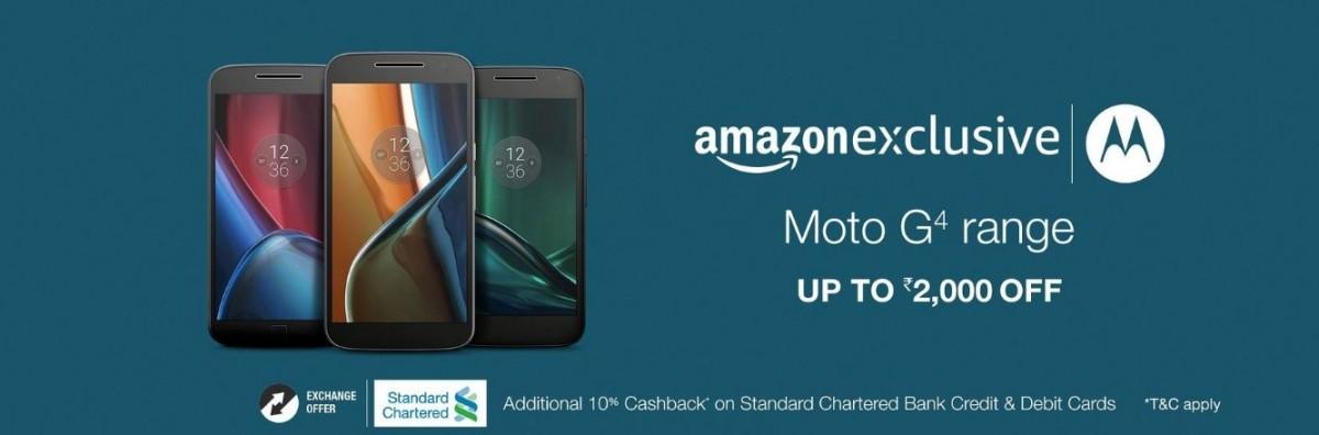 Christmas 2016 offer: Moto G4 series phones get generous price cut ...